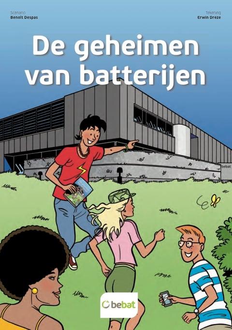 Stripverhaal - de geheimen van batterijen