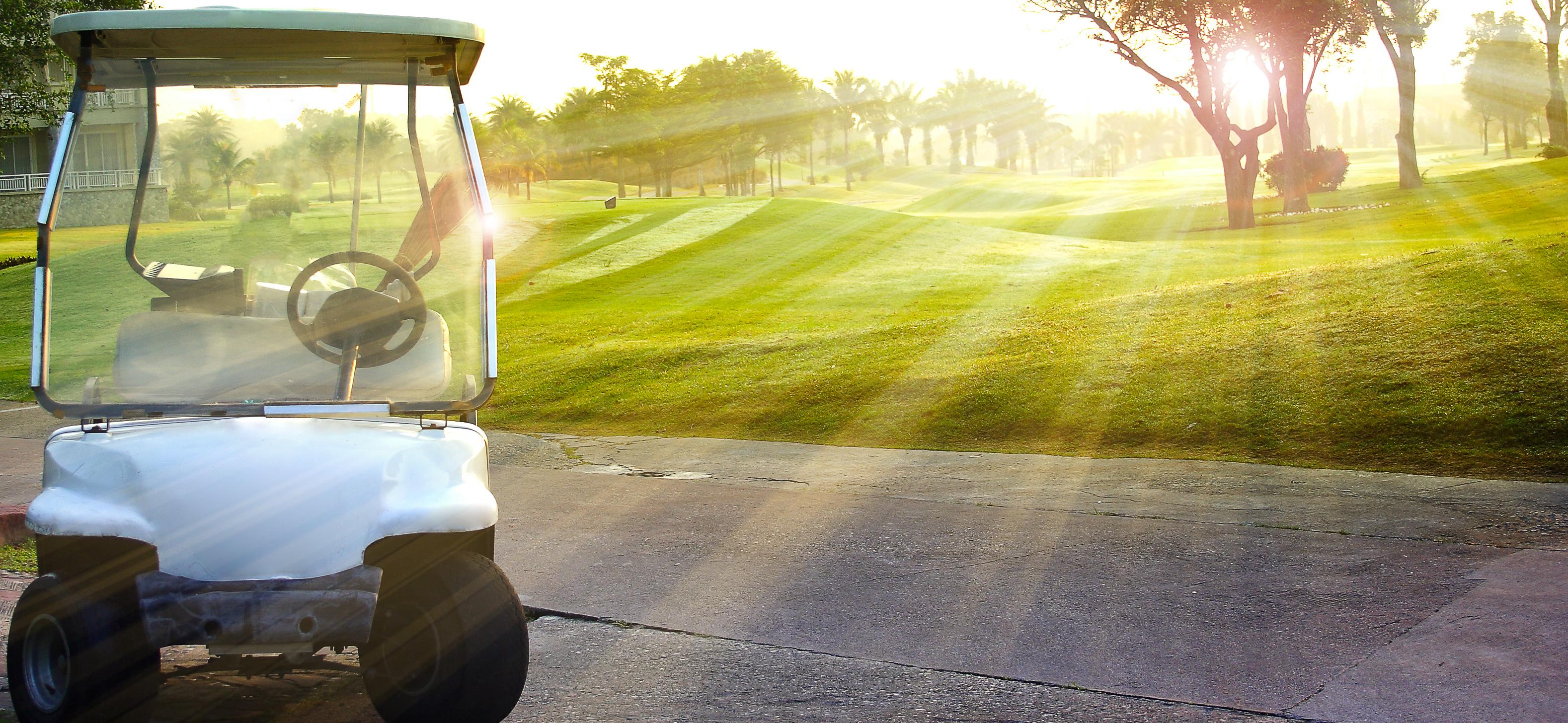 Elektrische golfkarretjes: ook die bestaan!
